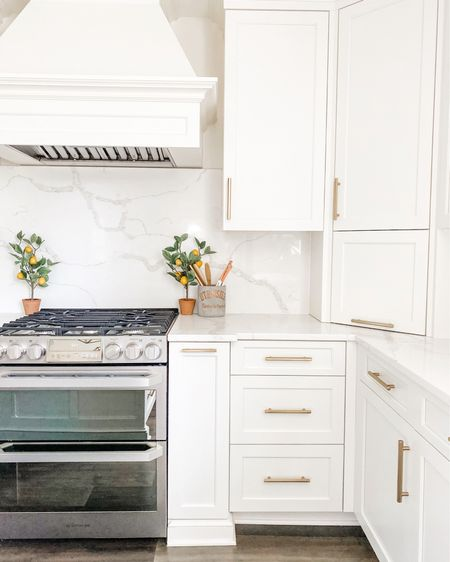 Neutral white kitchen🤍 Love these Emtek pulls!✨ I linked some pretty neutral kitchen accessories✨ http://liketk.it/3gORp #liketkit @liketoknow.it #LTKhome #LTKstyletip #LTKunder100 @liketoknow.it.family @liketoknow.it.home Shop my daily looks by following me on the LIKEtoKNOW.it shopping app