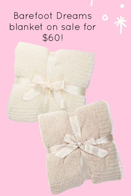 Barefoot Dreams blanket on sale http://liketk.it/3hW3Y #liketkit @liketoknow.it