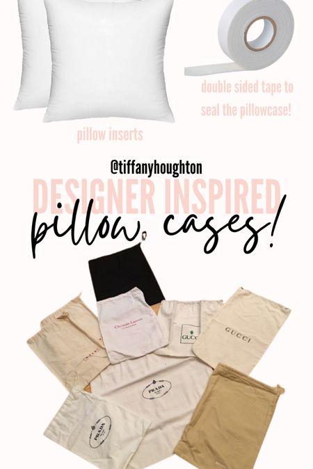 Designer pillowcase DIY! http://liketk.it/3iijP #liketkit @liketoknow.it