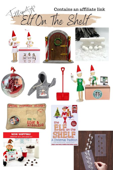 Games and accessories  For elf of the shelf   #LTKfamily #LTKGiftGuide #LTKHoliday