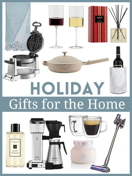 Christmas gifts , holiday gifts , gifts for the home , Nordstrom finds , amazon home , amazon finds , jo Malone #ltksalealert #ltkeurooe  jo Malone , nest diffuser , home gifts , home decor , kitchen finds , dyson , waffle maker , wine glasses , coffee mug   #LTKhome #LTKHoliday #LTKGiftGuide