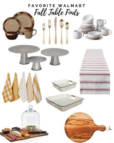 Fall table scape ideas for fall. #walmart  #LTKSeasonal #LTKhome