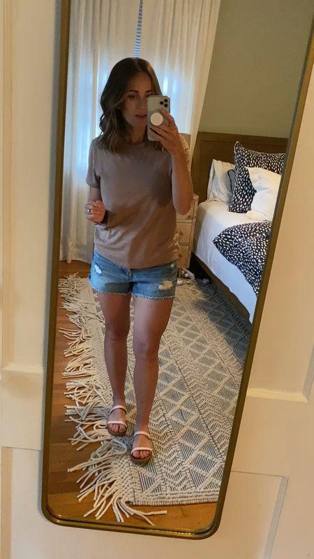 My favorite Madewell shorts are on sale!!!!! 30% off with code HEYSUN   #LTKsalealert