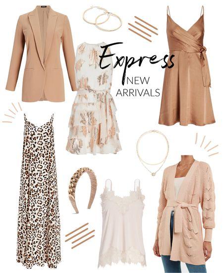 neutral clothes // express new arrivals   #LTKunder50 #LTKunder100