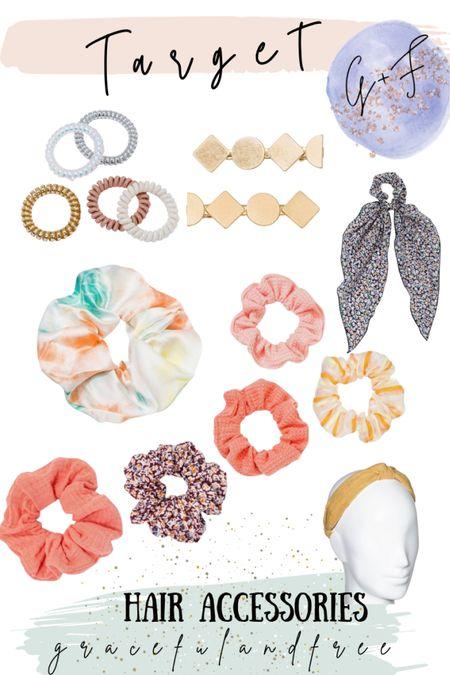 Hair accessories. Hair clips. Headbands. Ways to style hair easy for summer   #LTKstyletip #LTKbeauty #LTKSeasonal