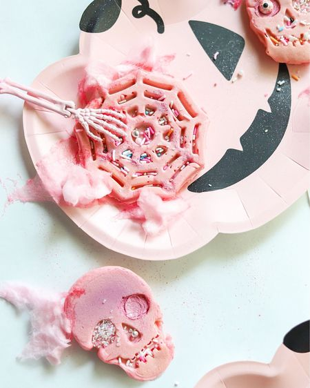 Spooky waffles but make them cute and girly.   #LTKSeasonal #LTKunder50 #LTKkids