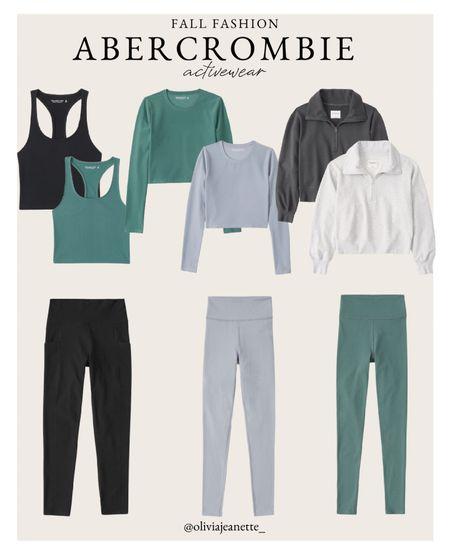 Activewear from Abercrombie   #LTKunder50 #LTKSeasonal #LTKfit