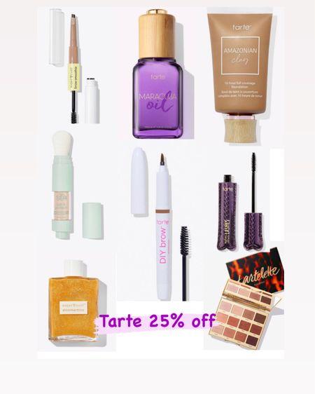 Tarte 25% off! http://liketk.it/3hlse @liketoknow.it #liketkit #LTKDay #LTKsalealert #LTKbeauty