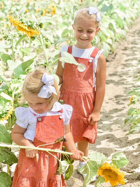 Adorable overall dresses to transition into fall 🌻  #LTKstyletip #LTKunder50 #LTKkids