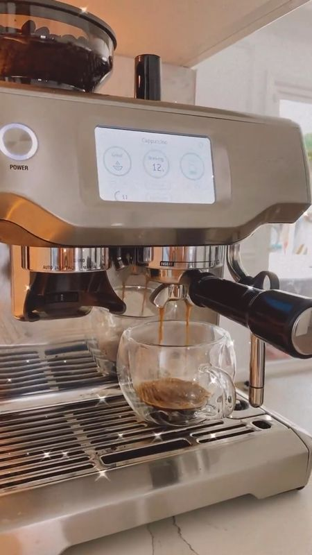 Breville espresso machine touch screen double walled mugs    #LTKfamily #LTKhome #LTKmens http://liketk.it/3fVv4 #liketkit @liketoknow.it