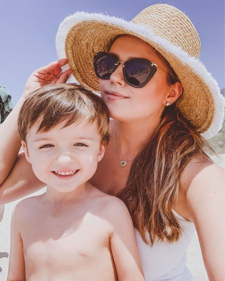 { happy 3rd birthday to our sebi 🤍🤍🤍 snapped this selfie on the beach a couple weeks ago 🏖🌞🐚 use code IRINABOND for 15% off this stunning @haverhillcollection charley heart necklace 📲🛍 http://liketk.it/2Opni #liketkit @liketoknow.it #LTKMothersDay #LTKstyletip #LTKunder100 }