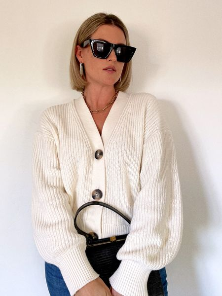 Channeling my favorite, Anine Bing. Wearing a S in this sweater!