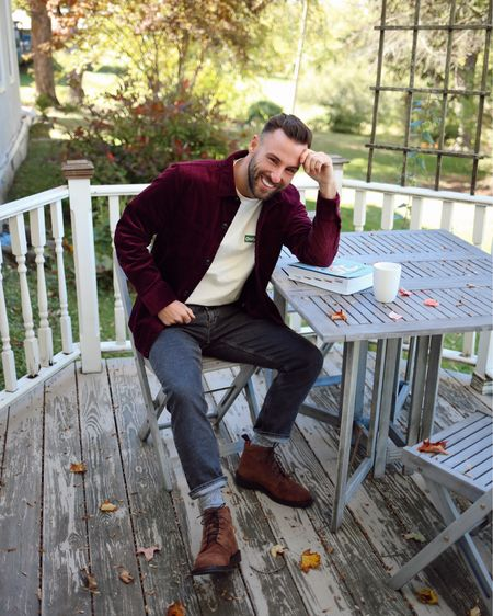 Took a little upstate breather last weekend to clear my head and start thinking about everything that I want to accomplish in the upcoming year. It was a great chance to reconnect and unwind and why not look good while I'm doing it, right? Wearing a few new Fall looks from @Bonobos - chocolate burgundy shirt jacket, lace up boots, and their new eco jeans which are made up of sustainable material. Shop the full look here with this link: http://liketk.it/2FUmV  and head to my stories for the swipe up! #ad #BonobosPartner #liketkit @liketoknow.it