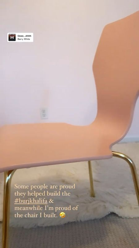 Super cute office chair that comes in a set of two. We are in the process of redecorating my daughter's room and this chair comes in a set of two. Super steal. More peach thank pink, but super cute. Also comes a mint green, lavender and white.    #LTKhome