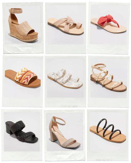 Must Have Sandals At Target!! http://liketk.it/3ea3h #liketkit @liketoknow.it #LTKshoecrush Shop your screenshot of this pic with the LIKEtoKNOW.it shopping app!!