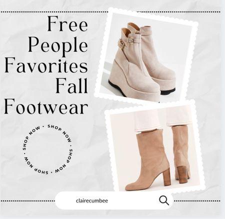 Free People boots Clogs Chelsea boots Boho shoes Suede boots Trendy boots Gen Z Fall Back to school Under $200  #LTKunder100 #LTKshoecrush #LTKbacktoschool