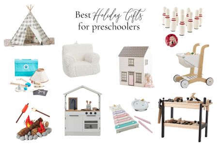 Still searching for the perfect holiday gifts? Check out my Best Holiday Gifts for Preschoolers gift guide! So many classic, timeless options that will work their imagination and creativity!  #StayHomeWithLTK #LTKkids #LTKgiftspo