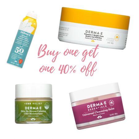 Sale alert: Buy one get one 40% off!!! Such a great deal on the entire collection!!       Skincare Dermae  Favorites Skincare obsessed   #LTKunder50 #LTKbeauty #LTKsalealert