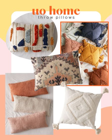 Urban outfitters affordable throw pillows! I love all of the rich textures. These throw pillows would work for your living room or bedroom! #liketkit #LTKhome @liketoknow.it @liketoknow.it.home http://liketk.it/3jX0J