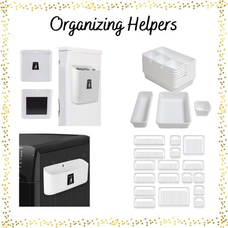 Recent organizers found on Amazon.  In my stories, I shared how I used them!  Would a highlight for organization be something you'd be interested in?  🧺 . Today, I organized several drawers in different rooms.  The big bucket will be a hamper for microfiber towels, the small one will be for dirty masks.  The organizers are in several drawers and brought me a lot of peace…are you like that, too?! . . . .  #drawerbeforeandafter #kitchenorganization #beforeandafterorganization #drawerdividers #organizingtips #tidyliving #homeorganizer #kitchenbeforeandafter #bathroombeforeandafter  #LTKunder50 #LTKfamily #LTKhome