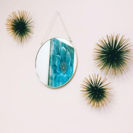 Shop my wall decor! Sea urchins and a small gold mirror http://liketk.it/3egRT #liketkit @liketoknow.it #LTKhome #LTKsalealert #LTKfamily @liketoknow.it.home