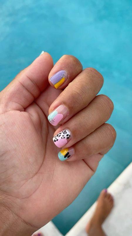 Summer mani 💅   #LTKbeauty #LTKtravel #LTKstyletip