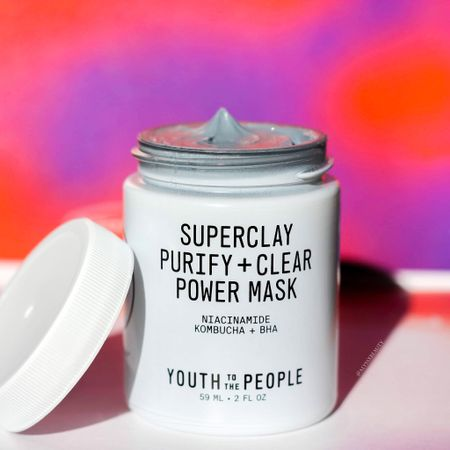 Youth To The People SuperClay Purify and Clear Power Mask! The best clay mask for all skin types that's no drying at all!   #LTKbeauty #LTKsalealert #LTKunder50