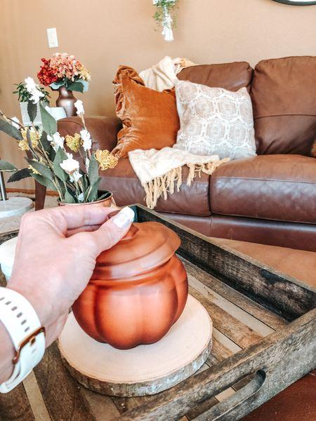 Fall home decor. Minimalist, inexpensive fall decor for your home. Candle is the medium size.  #fallcandle #fall #falldecor  #LTKhome #LTKunder50 #LTKSeasonal