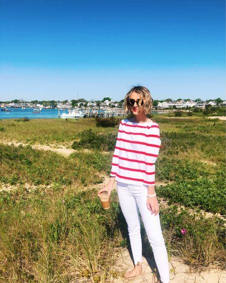 My stripe top is on clearance right now! ❤️ http://liketk.it/3gnBu #liketkit @liketoknow.it