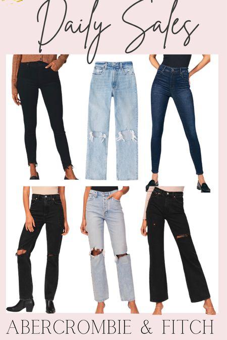 Daily Sales: Abercrombie &Fitch jeans 30% off   #LTKsalealert #LTKunder50 #LTKunder100