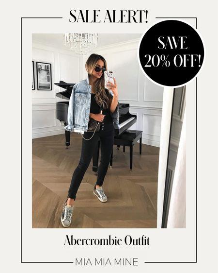 LTK Day sale picks - take 20% off this Abercrombie outfit with code LTKAF2021 #summeroutfit  #LTKsalealert #LTKunder100 #LTKDay