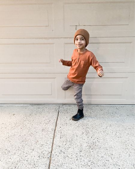 Amazon fashion, ya'll! Boy's Henley long sleeve tops, cutest boys boots, and of course boys beanies. I love pairing all of these basics together to tie in this cute look for boys.   To shop these products...   🛋 Follow me on the LIKEtoKNOW.it/sweet.p.and.sky (link in bio)  🛋 Shop your screenshot of these pics with the LIKEtoKNOW.it shopping app  🛋 Use this link http://liketk.it/35OW7    #liketkit @liketoknow.it #LTKstyletip #LTKkids #LTKfamily @liketoknow.it.family