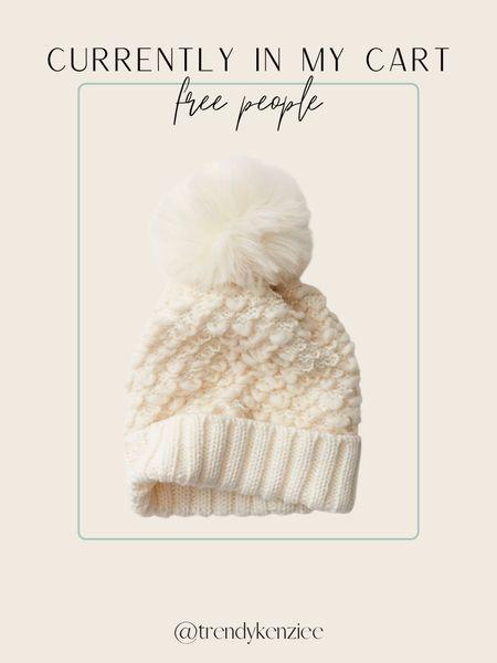 free people find / free people beanie / winter beanie / pom pom beanie   #LTKHoliday #LTKGiftGuide #LTKtravel