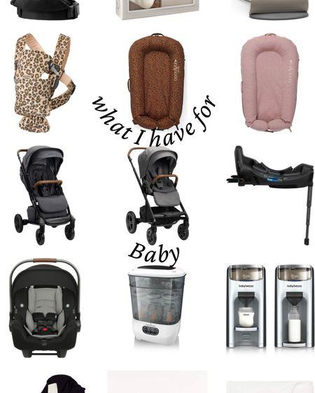 Things I have for baby so far 🌸👶🏼 http://liketk.it/3glXY #liketkit @liketoknow.it