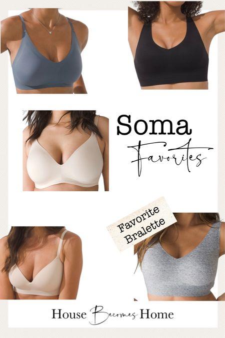 Favorite Soma Bras   #LTKsalealert #LTKunder50 #LTKbeauty