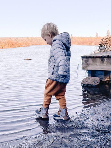 Toddler boy coat, winter coat Toddler boys clothes Sorel boots, toddler winter boots Target style sweatpants   #LTKkids #LTKunder100 #LTKSeasonal