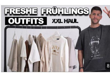 Freshe Frühlings Looks | XXL HAUL | Kosta Williams  Spring Outfits for men  #LTKmens #LTKstyletip #LTKeurope