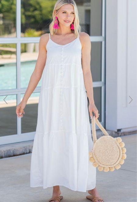White summer dresses    #LTKbump #LTKDay #LTKsalealert