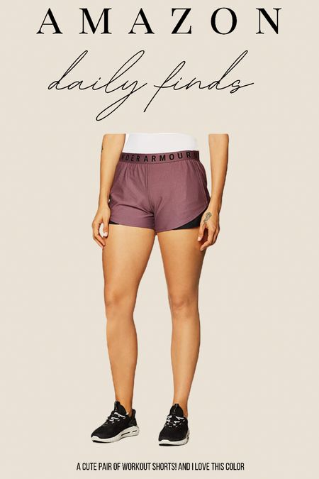 Amazon Fashion. Under armor workout shorts