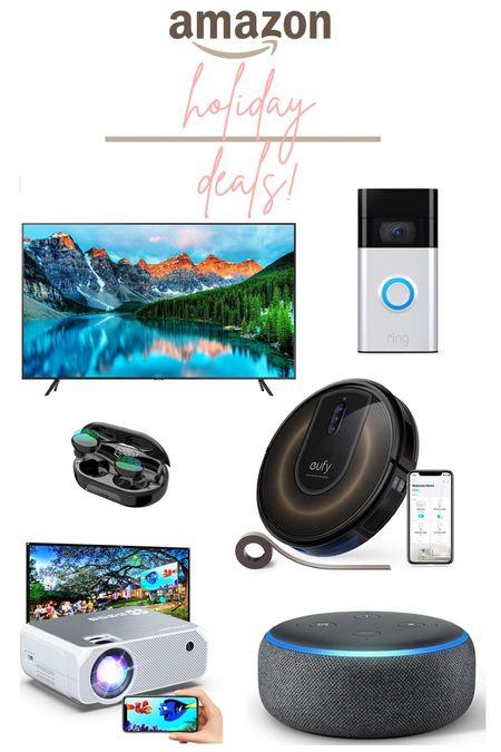 Amazon holiday deals home electronics edition.   #LTKhome #LTKsalealert