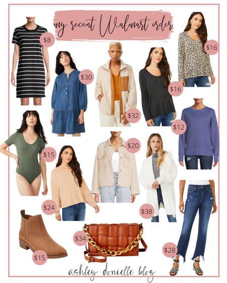 My recent Walmart order for fall!   #LTKstyletip #LTKunder50 #LTKSeasonal