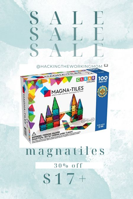 Amazon prime day deal. Best toy for a 3-6 year old! My son plays with these a million ways. We can build or imagine. They turn into boats for lego men. We have had ENDLESS hours of play.   #LTKfamily #LTKsalealert #LTKkids