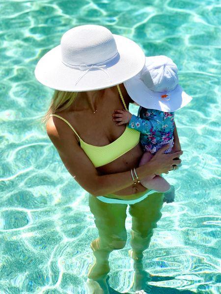 Pool dad with my bestie  #LTKfamily #LTKbaby #LTKSeasonal