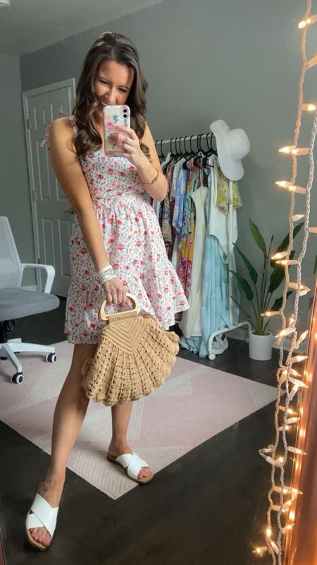 The cutest summer dress try on haul from Red Dress Boutique! Perfect dresses for wedding guest!   #LTKunder100 #LTKwedding #LTKtravel