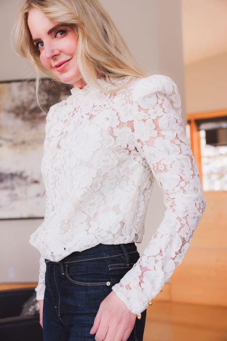 One of my all-time favorite lace tops is on MAJOR SALE during @amazon prime day!! Linked this and other standout tips below.   Runs true to size and comes with snap in and out camisole. I'm wearing a small. ~Erin xo   http://liketk.it/3i7cl #liketkit @liketoknow.it
