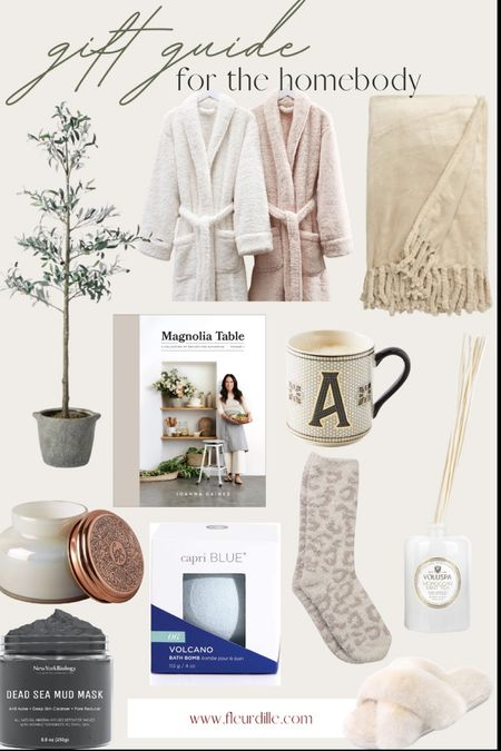 The gift guide for homebodies feathering robes, socks, blankets and all cozy essentials!  #LTKGiftGuide #LTKhome #LTKunder100