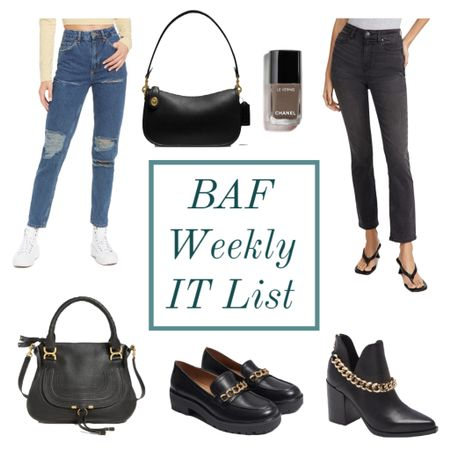 The BAF weekly IT list is here! 🎉 head over to the blog to read all about it, or shop what's trending here ❤️  #LTKshoecrush #LTKstyletip #LTKitbag
