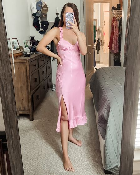 Wedding guest dress // pink dress // Astr the label // under $100 // wedding dress // summer wedding // beach wedding // vacation // travel http://liketk.it/3jSPs #liketkit @liketoknow.it #LTKunder100 #LTKwedding #LTKtravel