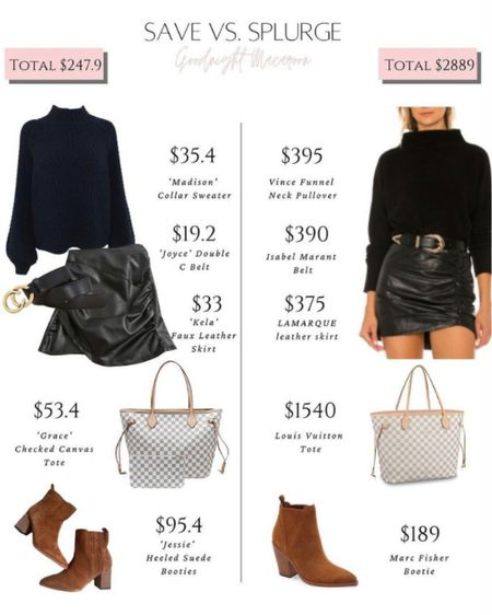 Can't get enough faux leather this season! Loving this look for fall. Use code RAYA40 to save!