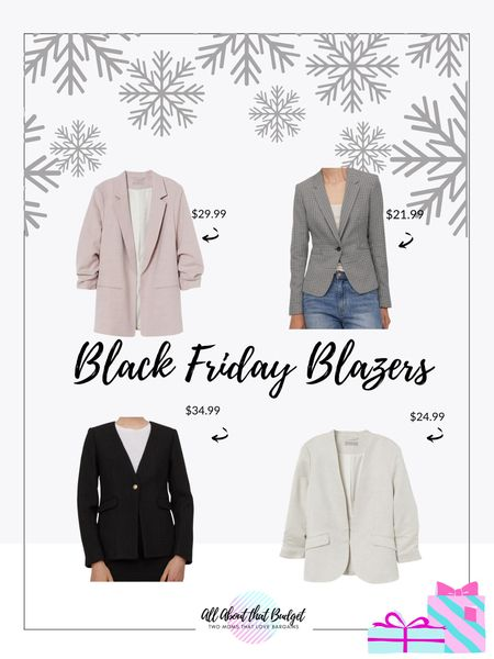 This deals are amazing! Blazers are on sale and prices couldn't be better!   🎉🎉🎉🎉  http://liketk.it/31JOI #liketkit @liketoknow.it   Shop your screenshot of this pic with the LIKEtoKNOW.it shopping app   #LTKunder100 #LTKgiftspo #LTKsalealert